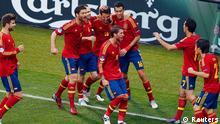 UEFA EURO 2012 Spanien vs. Italien Tor