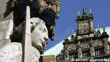 UNESCO Bremen Rathaus und Roland