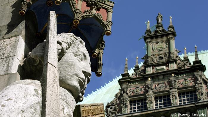 Ратуша и статуя Роланда, Бремен