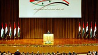 Baath Partei Kongress in Damaskus Bashar Assad