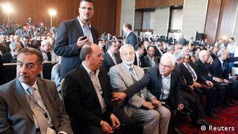 Plenum eines Treffens der syrischen Opposition (Foto: Reuters)