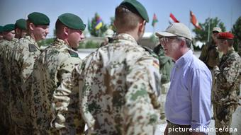 Thomas de Maiziere in Kunduz