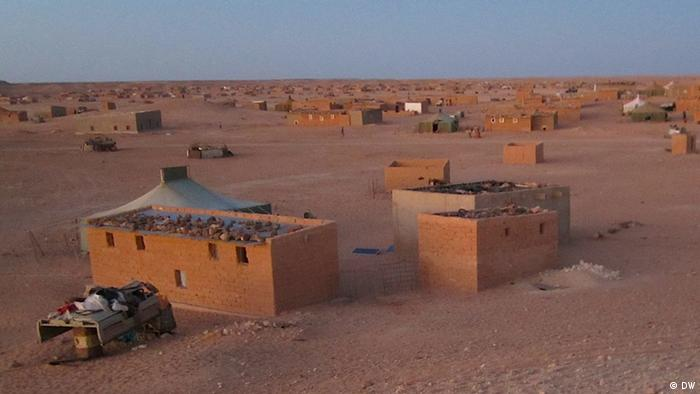 Refugee in Laayoune, West Sahara