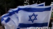 Ausschnitt Symbolbild Israelische Flaggen Archiv