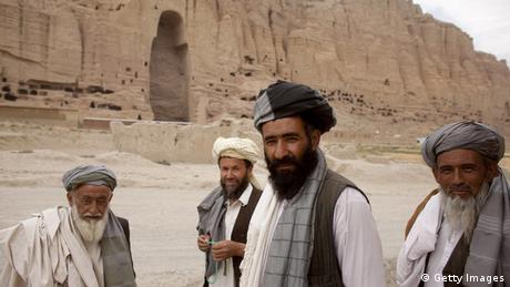 Zerstörung von Weltkulturerbe Buddha-Statuen von Bamiyan 2010