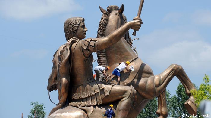 Statue Alexander der Große