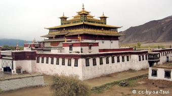 Kloster Samye Tibet 2004