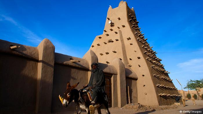 Sankore Moschee in Timbuktu, Mali
