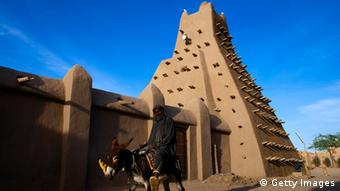 getty images 102826547. Sankore mosque, built in 15th-16th centuries , Timbuktu city, Timbuktu region, Mali. (Photo by Jordi Cami/Cover/Getty Images)