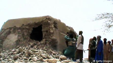 Mali Timbuktu Weltkulturerbe Zerstörung AKTUELLES BILD