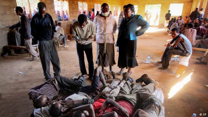 Tansania Flüchtlinge Ersticken LKW