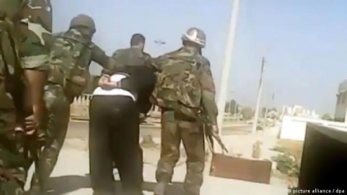 Vorwurf von Menschenrechtsverletzungen in Syrien