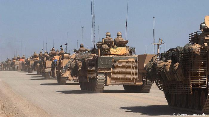 Britisch Soldaten Afghanistan Fahrzeuge