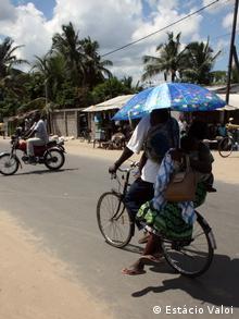 Fahrrad-Taxi in Quelimane