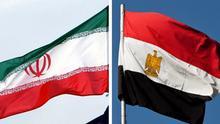 Symbolbild Combo Flaggen Iran Ägypten DW-Grafik: Olof Pock