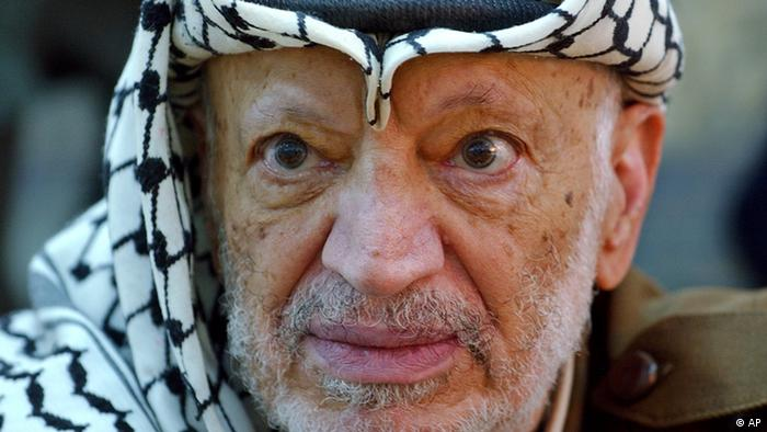 Was Yasser Arafat poisoned? Radiochemist Thomas Fanghänel doubts that polonium-210, said to have been hidden in the former Palestinian Presidents clothing, would still be detectable today. Pictured, the Palestinian leader Yasser Arafat pauses during an emergency cabinet session, at his compound, in the West Bank town of Ramallah in this Saturday, Oct. 2, 2004 file photo.