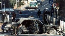 Deutschland Terroranschlag auf Alfred Herrhausen in Bad Homburg