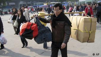 China Armut Wanderarbeiter