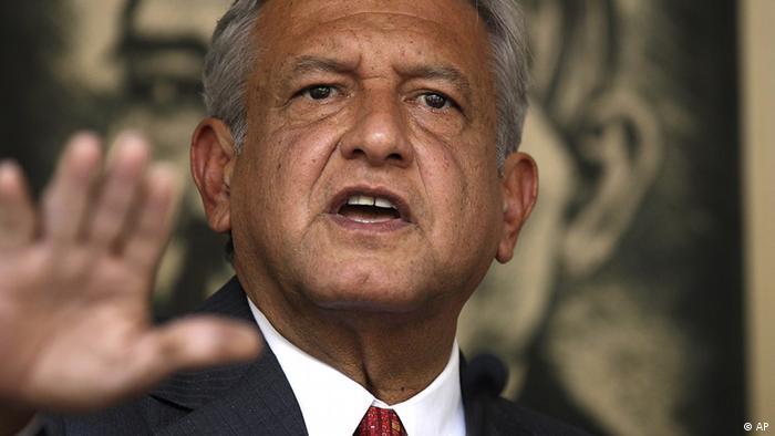 Andres Manuel López Obrador, presidente electo de México.