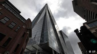 Blick auf Hochhaus The Shard in London (foto:ap)