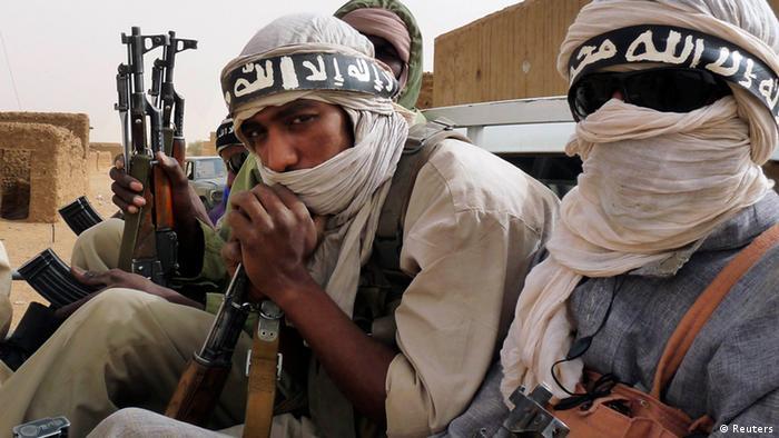 Kämpfer der Islamistengruppe Ansar Dine in Mali (Foto: Reuters)