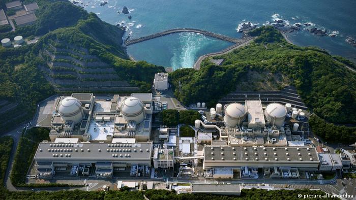 The Fukushima plant