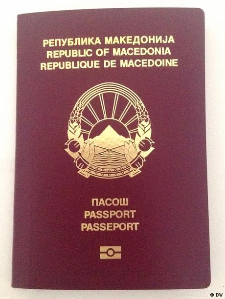 Mazedonien Reisepass