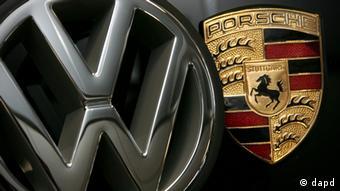 Symbole Porsche VW Volkswagen Übernahme