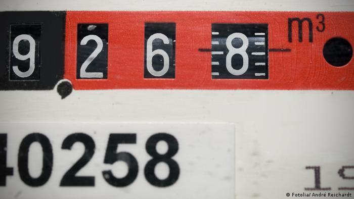 Symbolbild Gaszähler Gasuhr Energie Gas Kosten Energiekosten