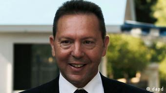 Greece's Finance Minister Yannis Stournaras