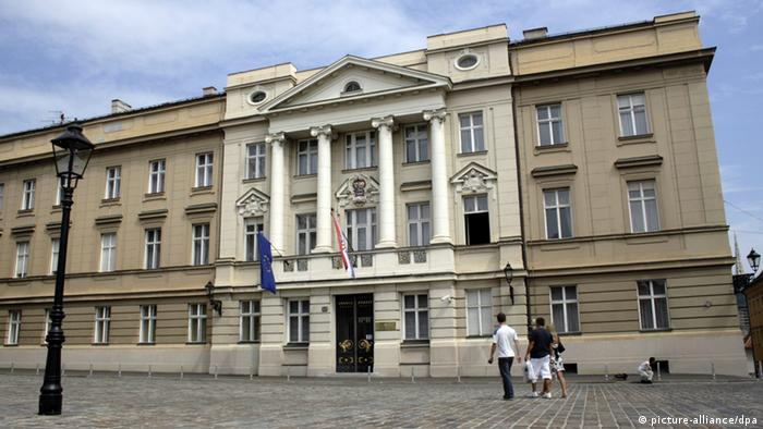 Kroatisches Parlament in Zagreb (picture-alliance/dpa)