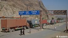 Pakistan Afghanistan Nachschubroute für NATO geöffnet Grenze