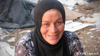 Islam Nawajeh. She's the mother of five children, the youngest of which is 13 months