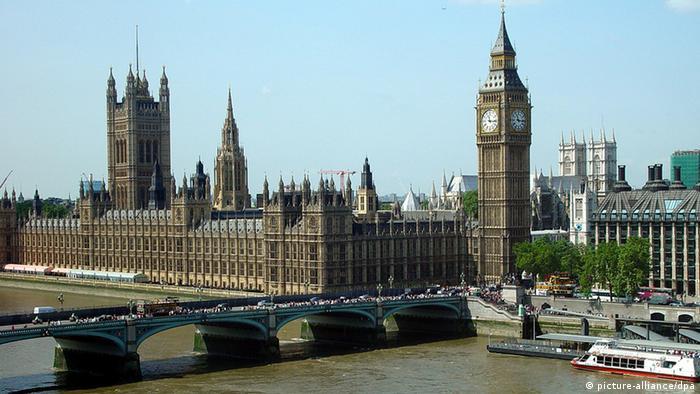 Bildergalerie beliebte Reiseziele Großbritannien Parlamentsgebäude in London