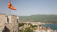 Mazedonien: Die Stadt Ohrid mit der Festung über der Altstadt und Blick auf den Ohridsee. tsar samoils fortress and ohrid © Image Source IS2 #36264198 - Fotolia.com