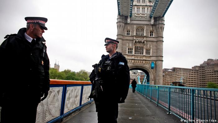 London Polizei Terrorwarnung