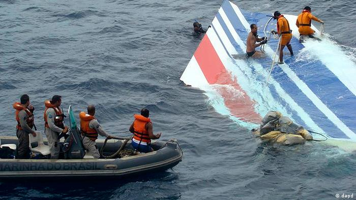Brasilien Frankreich Absturz Air France AF 447 Flugzeugkatastrophe