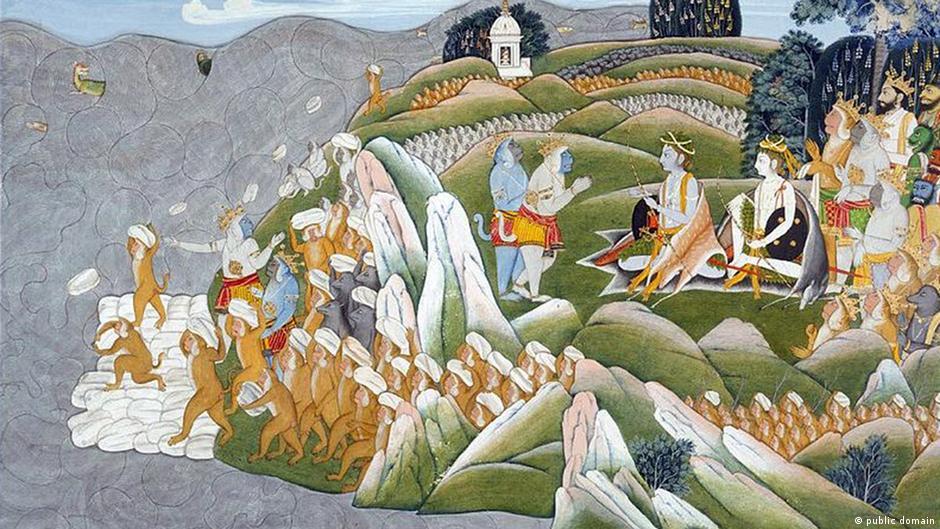 A bridge that Lord Ram built - myth or reality?   Asia  An