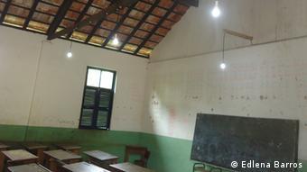 Escola de Santa Luzia iluminada pela energia eólica