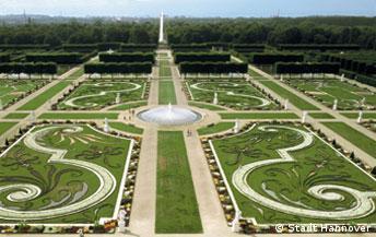 Die Herrenhäuser Gärten in Hannover, undatiertes Pressefoto, 2005. Foto: Stadt Hannover