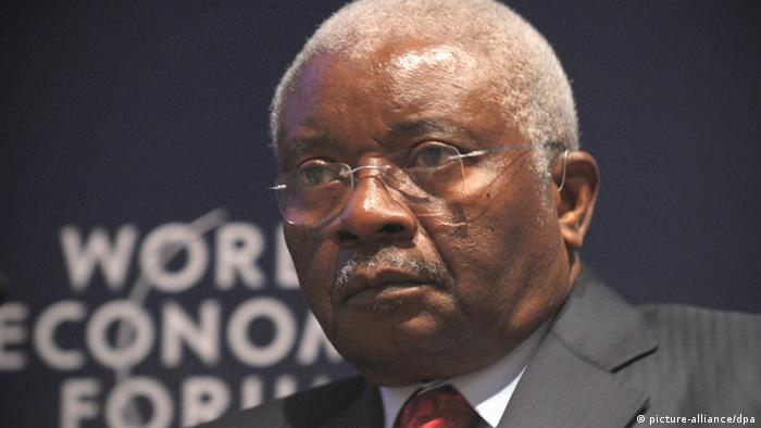 Antigo chefe de Estado moçambicano, Armando Guebuza