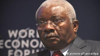 Armando Emilio Guebuza Präsident Mosambik Afrika