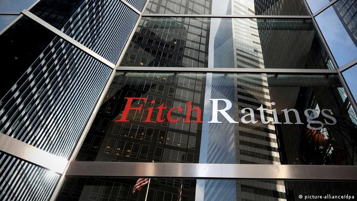 The facade of the Fitch credit rating agency building in New York City (Photo: EPA/JUSTIN dpa)