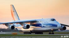 Transportflugzeug Volga-Dnepr Russland