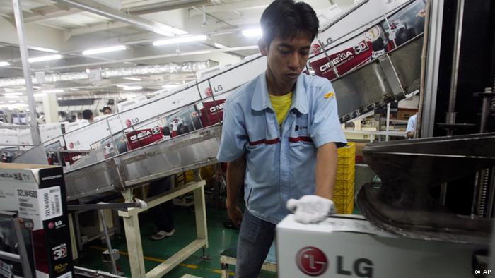 Indonesien aufstrebendes Schwellenland