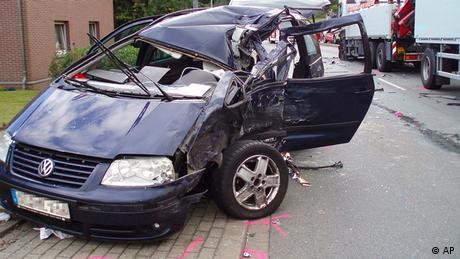 Deutschland Verkehrsunfall
