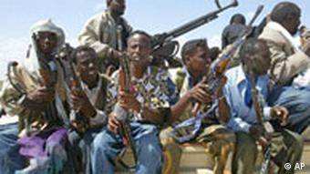 Bewaffnete Milizen in Somalia (Foto: ap)