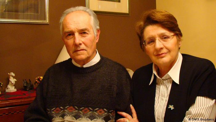 Volksdeutsche Josip und Blanka Petres in ihrer Zagreber Wohnung, Juni 2012 Copyright: DW/Sinisa Bogdanic Juli, 2012