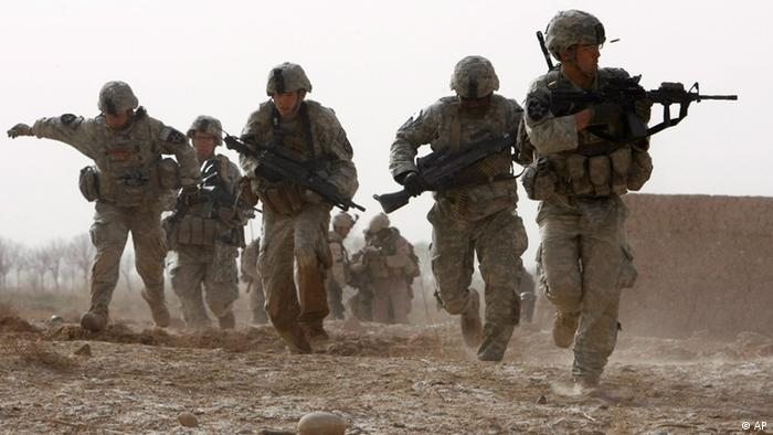 Afghanistan US Soldaten in Helmand 2010
