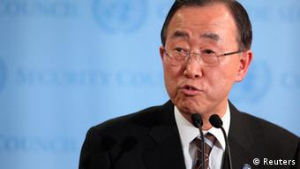 Secretarul general al ONU, Ban Ki Moon